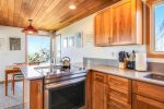 Newly remodeled kitchen at Ocean House